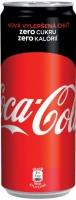 Coca Cola Zero - plech, 0,33 l, 4 ks