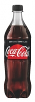 Coca Cola Zero - PET, 1 l, 12 ks