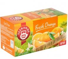 Ovocný čaj Teekanne - fresh orange, 20 sáčků