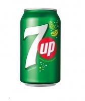 7 Up - plech, 0,33 l, 24 ks