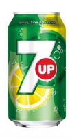 7 Up - plech, 0,33 l, 24 ks