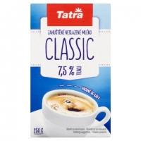 Zahuštěné mléko Tatra Classic - neslazené, 7,5 %, 250 g