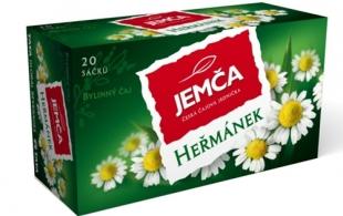 Bylinný čaj Jemča - heřmánek, 20 sáčků