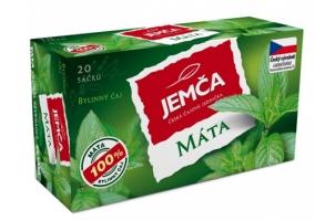Bylinný čaj Jemča - máta, 20 sáčků