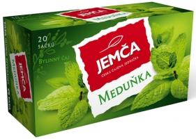 Bylinný čaj Jemča - meduňka, 20 sáčků