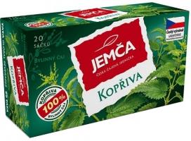 Bylinný čaj Jemča - kopřiva, 20 sáčků