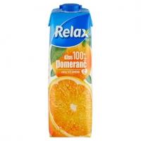 Džus Relax 100% - pomeranč, 1 l