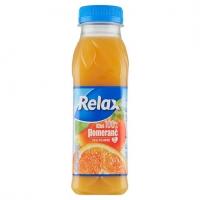Džus Relax 100% - pomeranč, PET, 0,3 l