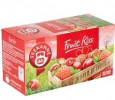 Ovocný čaj Teekanne - fruit kiss, 20 sáčků