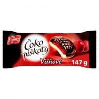 Čokopiškoty Figaro - višeň, 147 g