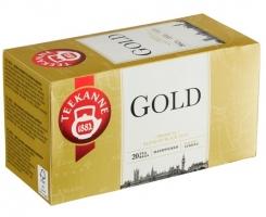 Černý čaj Teekanne - gold, 20 sáčků