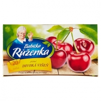 Ovocný čaj Babička Růženka - divoká višeň, 20 sáčků