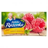 Ovocný čaj Babička Růženka - lesní malina, 20 sáčků