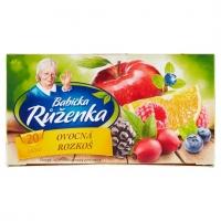 Ovocný čaj Babička Růženka - ovocná rozkoš, 20 sáčků