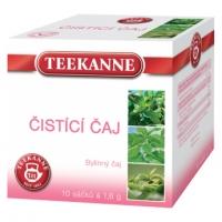 Bylinný čaj Teekanne - čistící, 10 sáčků