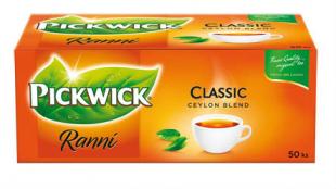 Černý čaj Pickwick - ranní, 50 ks