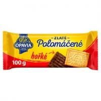 Zlaté sušenky Opavia - polomáčené, hořké, 100 g