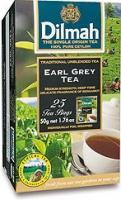 Černý čaj Dilmah - earl grey, 25 sáčků