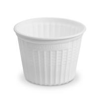 Kulatá termo miska na polévku 500 ml - XPP, bílá, 25 ks