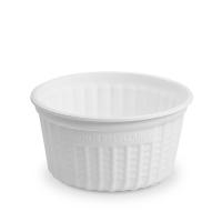 Kulatá termo miska na polévku 350 ml - XPP, bílá, 25 ks