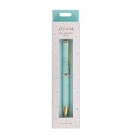 Kuličkové pero Filofax Expressions - 0,27 mm, kovové, mint