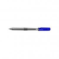 Jednorázové kuličkové pero Deli EQ01130 ARROW - 1 mm, plastové, modré
