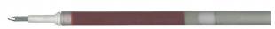 Náplň do gelového rolleru Pentel BL57/BLN75/Hyper G - LR7, 0,5 mm, plastová, červená