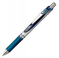 Gelový roller Pentel BL77 Energel - 0,7 mm, plastový, modročerný