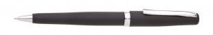 Kuličkové pero Valli - 0,8 mm, kovové, černá