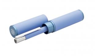 Kuličkové pero Tubla - 0,7 mm, kovové, modré + pouzdro