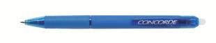 Přepisovatelný roller Concorde Trix Click - 0,7 mm, modrý