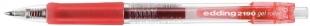 Gelový Edding Roller 2190 - 0,7 mm, červený DOPRODEJ