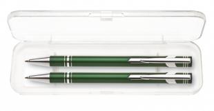 Psací souprava Limet - kuličkové pero + mikrotužka, zelená