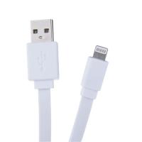 Kabel USB A M-Lightning M Avacom  - 2.0, 1,2 m, bílý