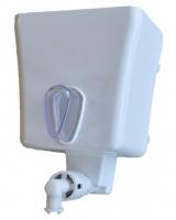 Náhradní pumpa s nádrží pro dávkovač tekutého mýdla Cormen - 1 l