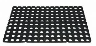 Gumová rohož - výška 16 mm, 40x60 cm, černá
