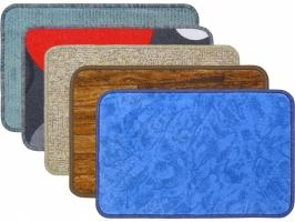 Interiérová rohož - 40x60 cm, textil, mix barev