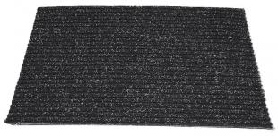 Venkovní rohož - 40x60 cm, guma/textil, černá