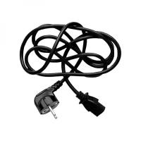Napájecí síťový kabel Logo - CEE7-C13, 230 V, 2 m, černý