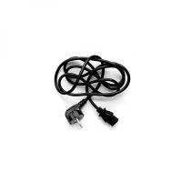 Napájecí síťový kabel Logo - CEE7-C13, 230 V, 3 m, černý