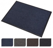 Venkovní rohož - 40x60 cm, guma/textil, mix barev