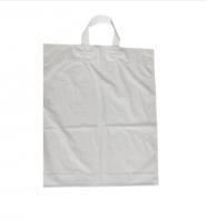 Igelitová taška s uchem - 38x46 cm, bílá