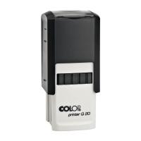 Čtvercové razítko Colop Printer Q 20 - 20x20 mm, černý otisk