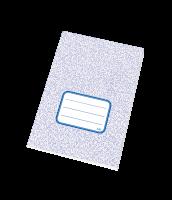 Školní sešit 540 RETRO - A5, čistý, recyklovaný, 40 listů