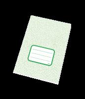 Školní sešit 545 RETRO - A5, čtverečkovaný, recyklovaný, 40 listů