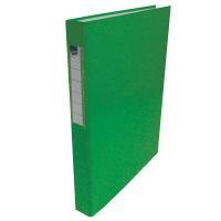 Dvoukroužkový pořadač A4 - hřbet 3,5 cm, lamino, zelený