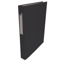 Čtyřkroužkový pořadač A4 - hřbet 3,5 cm, lamino, černý