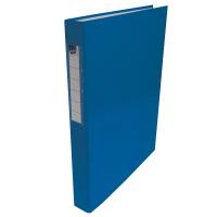 Čtyřkroužkový pořadač A4 - hřbet 3,5 cm, lamino, modrý