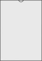 Zakládací obal U - A4, lesklý, 150 my, transparentní, 1 ks