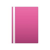 Plastový rychlovazač A4 - růžový
